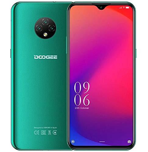 4G Smartphone Offerta DOOGEE X95 PRO (4GB+32GB), Android 10 Cellulare Dual SIM, 6,52'' Waterdrop HD+ Schermo, Batteria 4350 mAh Ricarica Rapida, 13MP Tripla fotocamera, Riconoscimento Facciale Verde