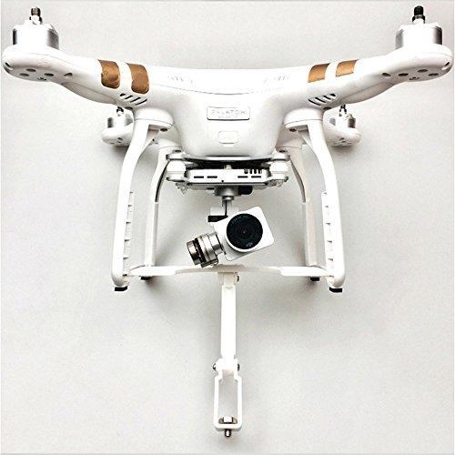 Flycoo - Soporte de cámara para DJI Phantom 3 para 360 grados, panorámica, cámara de acción, extensión de la señal para Phantom 3 Gamma