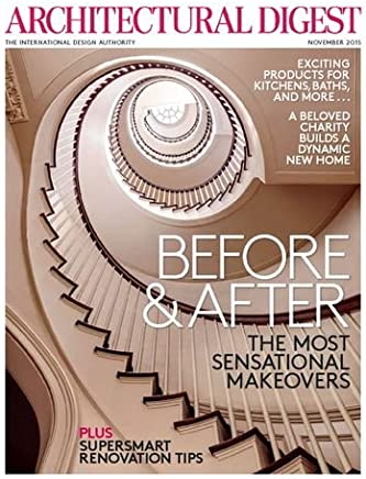 Architectural Digest Magazine: November 2015 Issue