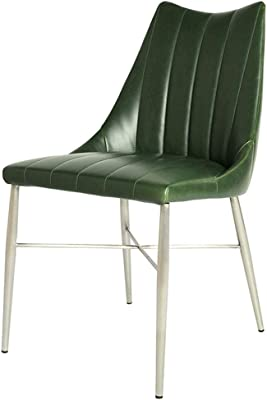 Amazon.com - Whiteline Modern Living DC1480-YLW Dining Chair ...