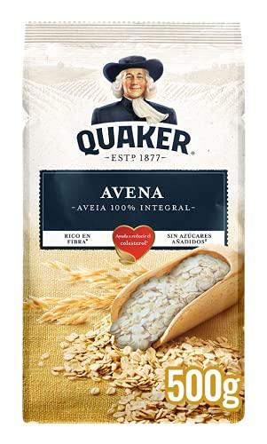 Quaker Copos de Avena 100% Integral, 500g