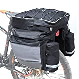 COFIT 68L Bicicleta Pannier, Bolso Impermeable para Maletero de...