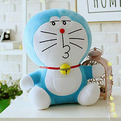 DOUFUZZ Anime Doraemon Peluche Giocattolo Carino Gatto Bambola Morbida inripiena Animale Cuscino per Bambini Ragazze Regali 25cm Tipo-4