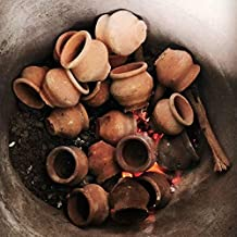 odishabazaar Plastic Khullad Cup - 6 Pieces, Brown, 100 ml
