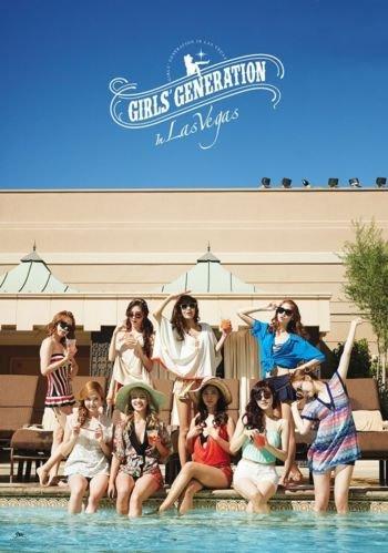 GIRLS' GENERATION IN LAS VEGAS Photo Book + DVD + MD + Poster K-POP Sealed (2014 New DVD Album from SNSD)
