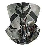 Multifunctional Face Mask Bandana Mandalorian Neck Gaiter Balaclava for Dust Outdoor Sports