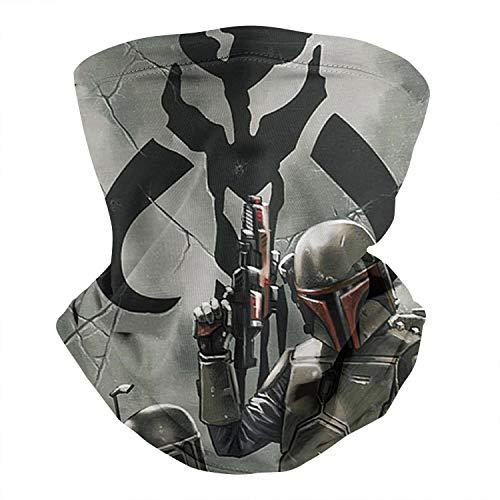 Multifunctional Face Mask Bandana Mandalorian Neck Gaiter Balaclava for Dust Outdoor Sports