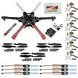 BGNing HexaCopter ARF Drone F550 Hex-Rotor FlameWheel Kit + KK 2.3 Controlador de Vuelo ESC Motor...