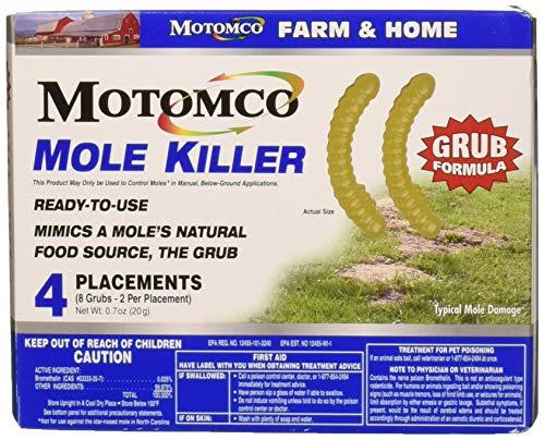 Motomco Plac Mole Killer Grub Formula (8 Placements)