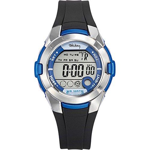 Tekday Unisex Digital Quarz Uhr 653878