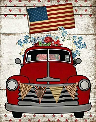 3205 Cartel floral francés con pintura vintage para calle, garaje, familia, cafetería, bar, granja, baño, decoración de pared, gran letrero de metal de 20,3 x 30,5 cm