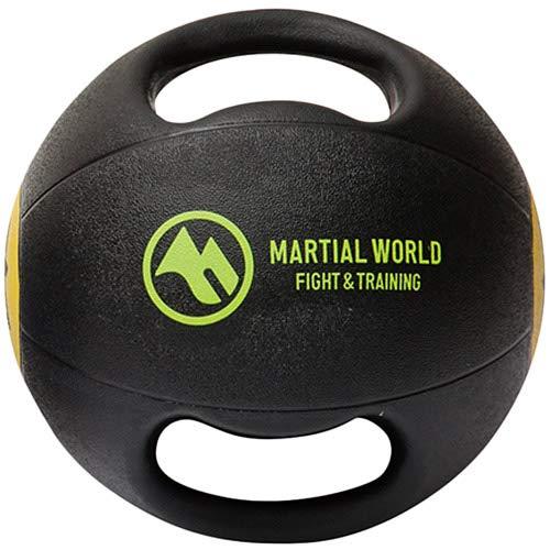 MARTIALWORLD(マーシャルワールド)『メディシンボールダブルグリップタイプ3kg』