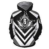Unisex 3D Rainbow 6 Six Hoodies Pullover R6 Tom Siege Hooded Sweatshirt Clothing Jacket Cosplay Merch Costume Shirt Tshirt 3XL