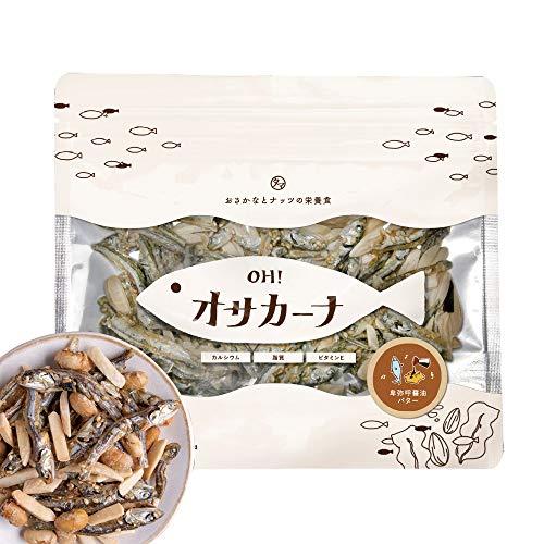 OH!オサカーナ100g(卑弥呼しょうゆバター)小魚 アーモンド