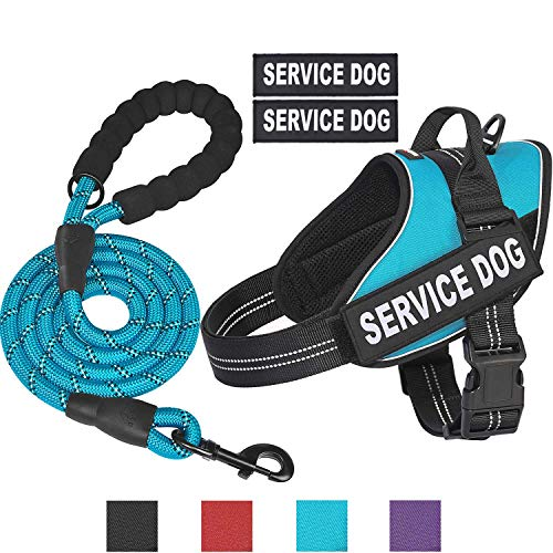 matilor Service Dog Harness, No Pull Dog Vest Harness Reflective Adjustable for Small Medium Large Dogs with Handle