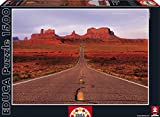 Educa Monument Valley Road Puzzle (1500 Piece), One Color by