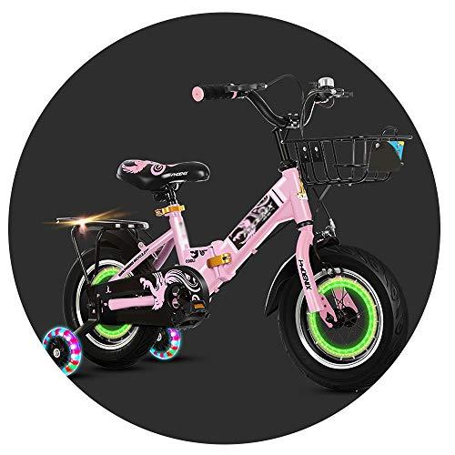 Kids Bikes Bicicleta Infantil 14/16/18 Pulgadas Niños Y Niñas Bicicleta para Niños...