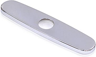 FREUER Faucets Kitchen Sink Hole Cover Plate, Polished Chrome