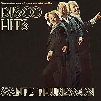 Svenska versioner av aktuella disco hits