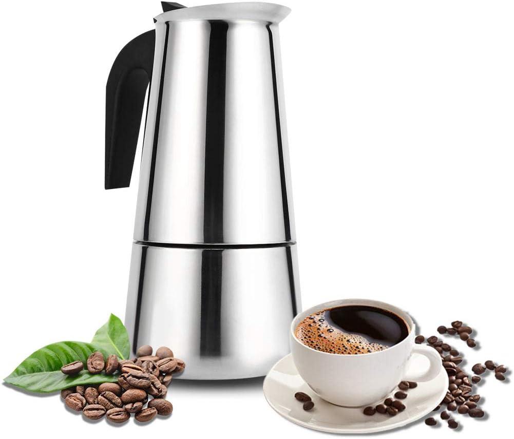 Stovetop Espresso Maker with Classic and Max 52% OFF Cu Pot Rich Brews Classic Moka