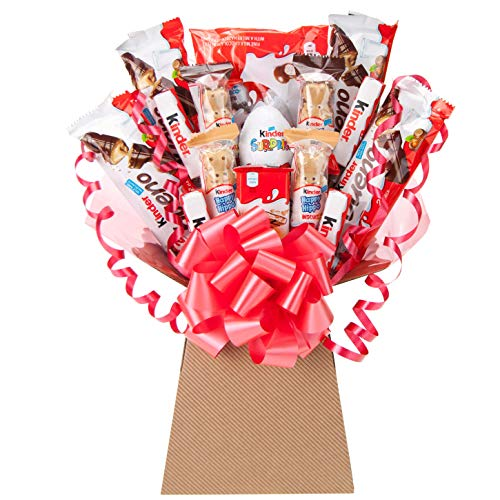 Chocolate Bouquet Gift Kinder Selection Hamper