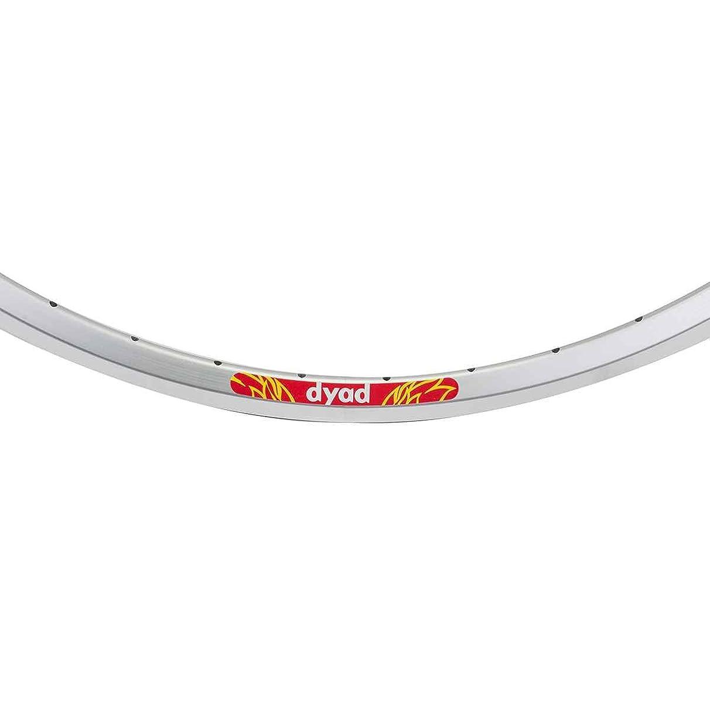 Velocity Dyad Rim, 40h, 700c, Silver MSW