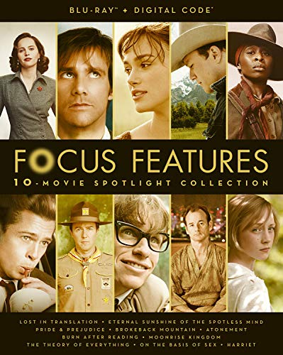 Focus Features 10-Movie Spotlight Collection - Blu-ray + Digital