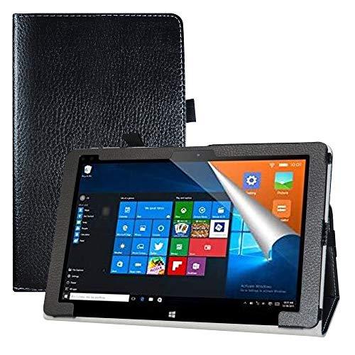 """LFDZ Cover ALLDOCUBE iwork10 PRO,Slim Ultra Pelle Sottile e Leggera Cover Case Custodia per 10.1"""" ALLDOCUBE iwork10 PRO 2-in-1 Tablet,Nero"""