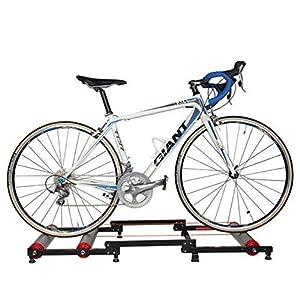 ROCKBROS Rodillo de Ciclismo Ajustable Plegable de Entrenamiento para Bicicleta de Montaña y Carretera 16-29 Pulgadas