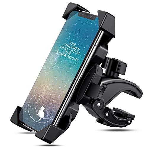 SUNGYIN Handyhalterung Fahrrad Handyhalterung Motorrad für Smartphone Breite das 4.0-6.5Zoll 360° Drehbare Halter Verstellbarer Fahrrad handyhalter Motorrad Handy Halterung Smartphone Halterunge