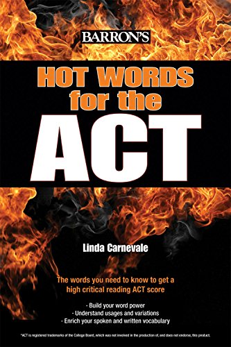 Hot Words for the Act (Barron's Test Prep)