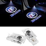 2 PCS Car LED Door Lights Projector Logo Ghost Shadow Light Courtesy Welcome Symbol Puddle Lights for Buick LaCrosse/Envision/Allure/Enclave Accessories