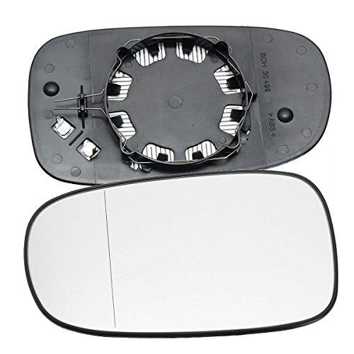 C-FUNN Voiture Droite Côté Conducteur Porte Miroir Aile Grand Angle pour Saab 9-3 93 2003-2010