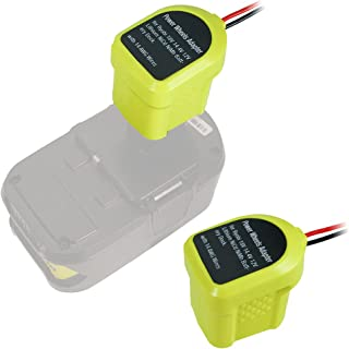 Sponsored Ad – Battery Adapter Power Wheels Adapter for Ryobi 12V 14.4V 18V NiCd NiMh Lithium Battery Dock Holder Power Mo...