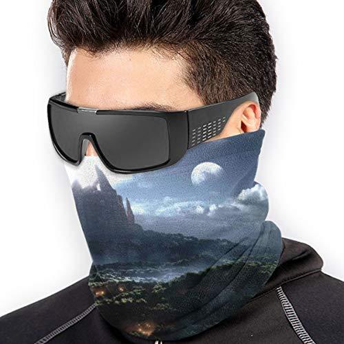 LLOOP World Warcraft Warlords Draenor Fantasy Wow Schal Halswärmer Halswärmer Manschette für Ski Wandern Gesichtsmaske Radfahren Kopfbedeckung Hals