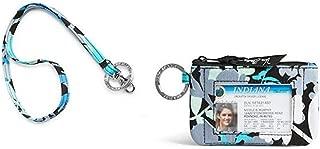 Vera Bradley Zip Id Case and Lanyard Badge Holders (Camofloral)