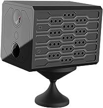 NC Mini câmera com detecção de movimento Wi-Fi Microfone embutido de 38dB Camcorder sem fio para ambientes internos e exte...