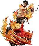 Anime One Piece Roronoa Ace POP Figure PVC Collection Modèle Figurine Décoration Ornements Collectibles Jouet Animations Modèle de Personnage 25CM