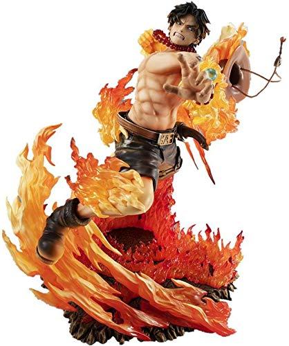 Figura de PVC con diseño de anime One Piece Roronoa Ace POP de 25 cm
