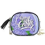Titolare della carta della cassa della moneta del portafoglio di grande capacità della borsa del telefono della borsa della borsa dei fiori floreali della primavera di Pasqua floreale d'annata