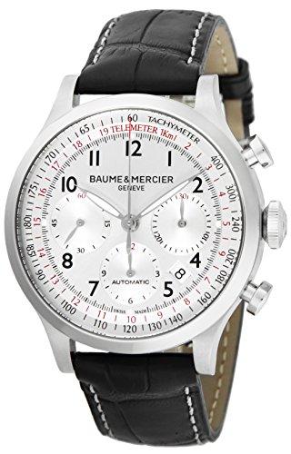[ボーム&メルシエ] 腕時計 CAPELAND シルバー文字盤 自動巻 クロノグラフ デイト MOA10046 並行輸入品