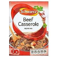 Schwartz Beef Casserole Recipe Mix (43g) シュワルツ牛肉キャセロールレシピミックス( 43グラム)