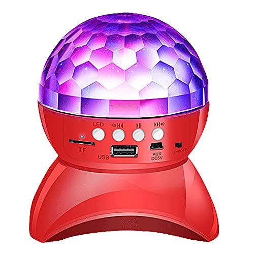 vfvfvf Altavoz Bluetooth Inalámbrico, Luz De La Atmósfera De La Etapa LED,...