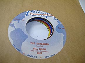 BILL JUSTIS AND HIS ORCHESTRA 45 RPM Raunchy / The Midnite Man