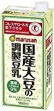 マルサンアイ 国産大豆の調製豆乳 1LX6