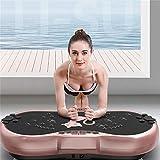 H-XH Großes Vibrationsplatte Testsieger 2020 ,Fitness Vibrationstrainer 200 Kg Fernbedienung Magnetfeldtherapie-Massage , Zur Gewichtsreduktion Und Muskelaufbau