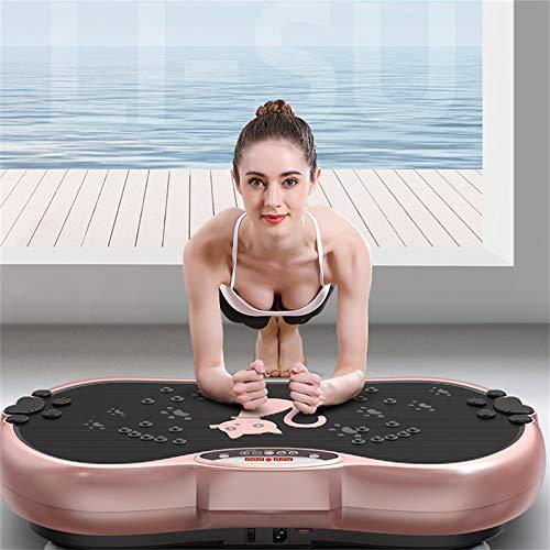 H-XH Grande Plataforma Vibratoria para Adelgazar, Plataforma De Vibración 200 Kg, Masaje De Terapia Magnética con Control Remoto, para Perder Peso Y Tonificar