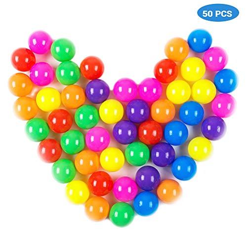 Neborn Bolas de Juego de plástico Blando Color Aleatorio Bola de plástico...