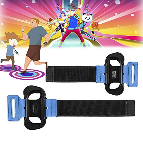 SUPERSUN 2 Piezas Band para Switch Dance 2020 2019 para Nintendo Switch, Ajustable Brazalete Brassard para Nintendo Switch para Joy-Con para Switch Dance 2020 2019 2018