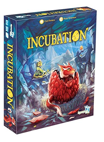 Incubation - Bordspel -  Word jij de beste drakenkweker? - Voor de hele familie - Taal: Nederlands